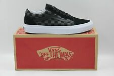 New Vans Old Skool Canvas / Suede Black Skateboarding Shoes Men's Size 6 US