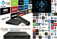 AMAZON FIRE TV BOX 4K JAILBROKEN LOADED 16.1 MOBDRO CABLE LIVE TV MOVIES