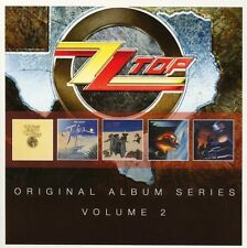 ZZ TOP - ORIGINAL ALBUM SERIES VOL.2  5 CD NEU