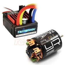 Yeah Racing Tritronic Waterproof 60A ESC V2 13T Brushed Motor Car Combo #CB0812