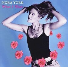 NEW CD: What I Want by Nora York: PUNCH HOLE IN BAR CODE.
