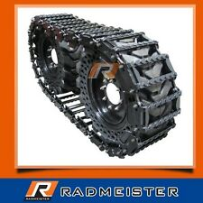 "Over the Tire Skid Steer Steel Tracks 12"" for BOBCAT 853, 863, 873"