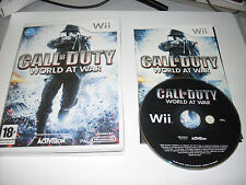 GIOCO NINTENDO WII CALL OF DUTY WORLD AT WAR -  GIOCO