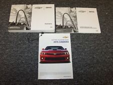 2015 Chevy Camaro Coupe Owner Owner's User Guide Manual Set SS LS LT Z28 V6 V8