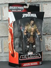 KRAVEN Savage Force Amazing Spider-Man 2 Marvel Legends Figures Wave 4 BAF RHINO