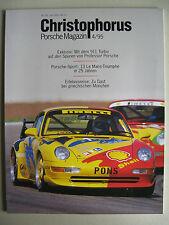 Porsche Christophorus 255 4/95 Juli 95 mit 911 993 Turbo Le Mans 1970 -1995 917