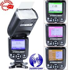 Neewer NW-985N i-TTL 4Color TFT Display,HSS/FP,Flash Speedlite,Nikon DSLR Camera