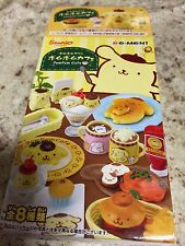 Official San-X Re-Ment Pom Pom Purin  Pom Pom Cafe Set #1
