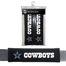 Dallas Cowboys Velour Seat Belt Shoulder Pads 2/PK Auto Car Truck Vehicle NFL
