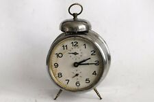 Antique German Haller Foreign Desk Alarm Clock 1930's