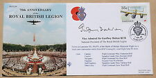 ROYAL BRITISH LEGION 75TH ANNIV 1996 COVER SIGNED V. ADMIRAL SIR GEOFFREY DALTON