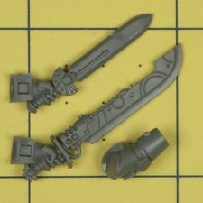Warhammer 40K Space Marines Deathwatch Kill Team Xenophase Blade & Power Sword