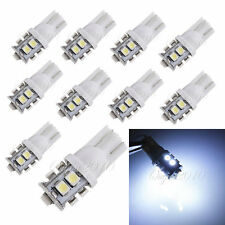 10x T10 501 194 W5W 3528 SMD 10 LED Side Plate Feux Veilleuse BLANC Voiture 24V