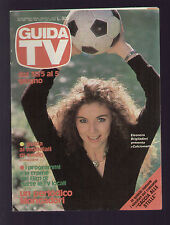 GUIDA TV MONDADORI 21/1982 BRIGLIADORI MUNDIAL ESPANA '82 PROGRAMMI TV LOCALI