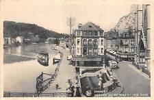 Br35156 Dinant arivee du bateau et rue Saxe belgium