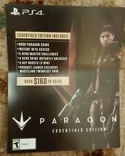PS4 Paragon Essentials Edition Bonus Content Voucher Card Only 160$ Value rare