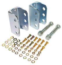 1963-72 Chevy C10 Trailing Arm Anti Squat Bracket Kit, OE Cross Member Only