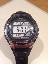 Casio Wave Ceptor Radio Controlled Digital Mens Wrist Watch WV58U1AV.