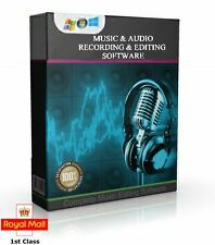 MUSIC & AUDIO RECORDING & EDITING SOFTWARE, MULTI-TRACK DIGITAL SOUND STUDIO