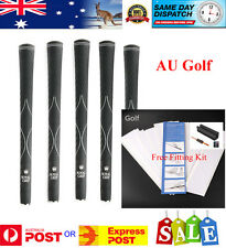 10 x LK Royal XV 580 Oversize Size Golf Grips with Free Fitting Kit - AU Stock