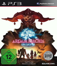Play Station 3 Spiel PS3 Final Fantasy XIV A Realm Reborn mit Anleitung