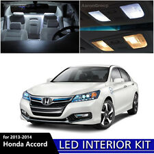 14PCS White Interior LED Light Bulbs Package Kit For 2013-2014 Honda Accord