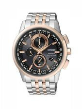Citizen Chronograph Eco-Drive Funk Herrenuhr AT8116-65E Elegant 550