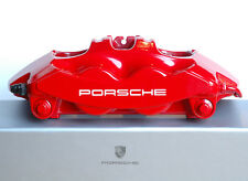 PORSCHE 911 BREMBO BRAKE CALIPERS FULL SET of 4 - NEWLY RECOATED - OEM RED