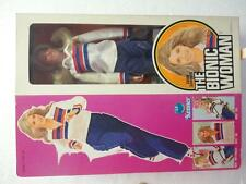 1976 Six Million Dollar Man Action Figure BIONIC WOMAN Mint in Box