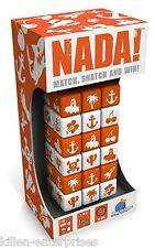NADA! Match, Snatch, and Win! Family Fast Pace Dice Game Blue Orange