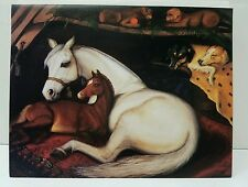 "Beautiful Horses ""In an Arab Tent"" in the Style of Sir Edwin Landseen Gtg Cards"