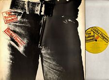 THE ROLLING STONES sticky fingers COC 59100 A1/B4 zip gimmix cover uk LP EX-/VG