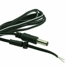 Moulded DC Power Lead 2.5mm x 10mm Plug