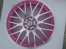 "Limited Edition 17""x7J Pink Yazmine Alloy Wheels Brand New for Audi A3 TT +More"