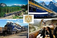 SOUVENIR FRIDGE MAGNET of THE ROCKY MOUNTAINEER TRAIN CANADA