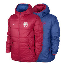 NWT Nike Arsenal Gunners Alliance Flip It Reversible Red Blue Jacket 577381-672