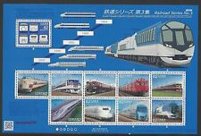 JAPAN 2015 Railroad Train  Series 3 No 1  Stamp  Mini Sheet