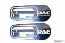 10pc DAF XF 95 105 106 Door Handle Cover Set Stainless Steel Chrome Trim