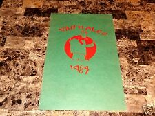 Van Halen Original Concert Show Poster 1984 Arizona Eddie David Lee Roth Alex