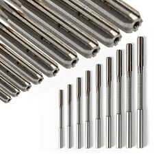 Set Of 3/4/5/6/7/8/9/10mm HSS Straight Shank Chucking Reamers Milling Cutter