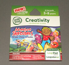 Adventure Sketchers Leap Frog Leap Pad LeapPad 2 Explorer Creativity Game