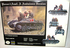 MB MASTER BOX LTD Panzer 1 Ausf. A Ambulance Version Plastik Modellbausatz 1:35