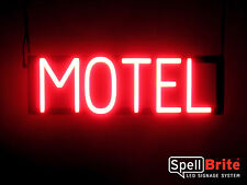 SpellBrite Ultra-Bright MOTEL Sign Neon-LED Sign (Neon look, LED performance)