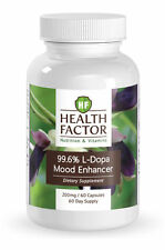 99% L-Dopa Mucuna Pruriens extract, Enhances Mood, Increases Focus (1 Bottle)