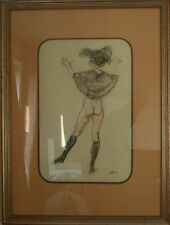 Henry Bird - Nude Pastel Picture