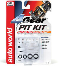 Autoworld 00230 4Gear Pit Kit Chassis Tuneup Ho Scale Slot Car 4 Gear AW