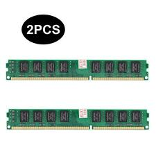 8GB 2x4GB DDR3 PC3-10600 (DDR3-1333MHz) 240-Pin DIMM Memory RAM INTEL & AMD Both