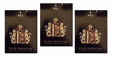 "3 x CLIVE CHRISTIAN SAMPLES ""L"" PERFUME  WOMEN"