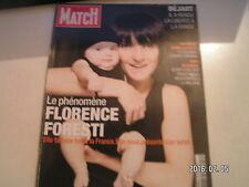 ** Paris Match n°3054 Florence Foresti / Siida au Kenya / Meurtre dans le RER