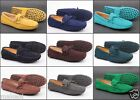 New hot Men's slip on suede classic loafers Moccasins Casual driving shoe